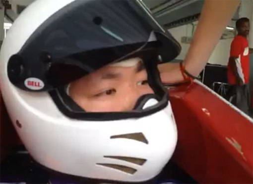 mole-racing